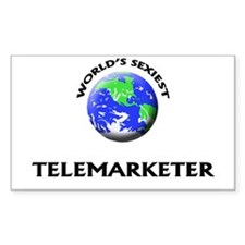 World's Sexiest Telemarketer Decal