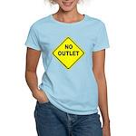 No Outlet Sign Women's Light T-Shirt