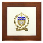 LAGACHETTE Family Crest Framed Tile