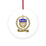 LAGACHETTE Family Crest Ornament (Round)