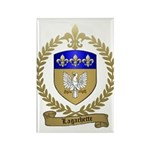 LAGACHETTE Family Crest Rectangle Magnet