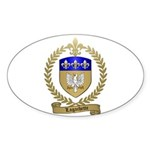 LAGACHETTE Family Crest Oval Sticker