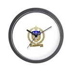 LAGACHETTE Family Crest Wall Clock