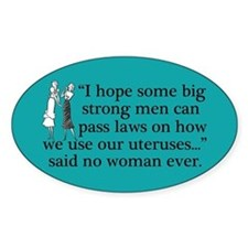 Funny Pro Choice Decal