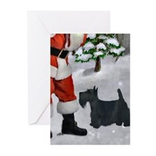 Scottish Terrier Greeting Cards (Pk of 10)
