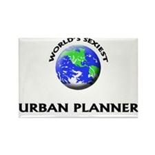 World's Sexiest Urban Planner Rectangle Magnet