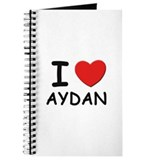 I love Aydan Journal