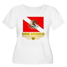 Dive Mexico 2 Plus Size T-Shirt