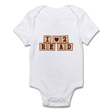 I heart to Read Infant Bodysuit