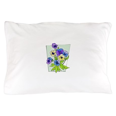 pansies.png Pillow Case