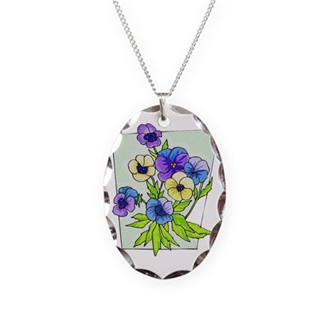 pansies.png Necklace
