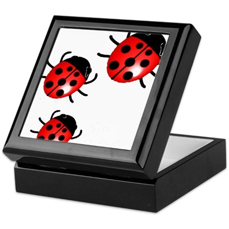Ladybugs Keepsake Box