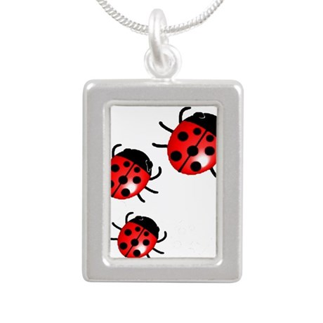 Ladybugs Necklaces