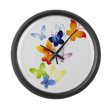 butter1.png Large Wall Clock