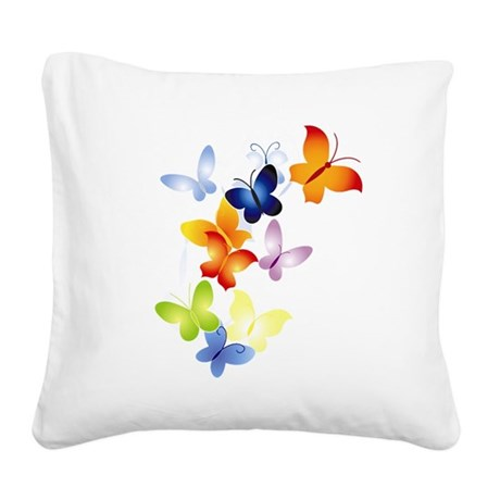 butter1.png Square Canvas Pillow