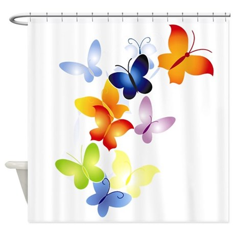butter1.png Shower Curtain