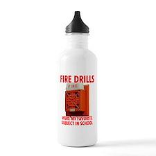 Fire Drills Water Bottle