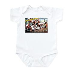 Las Vegas Nevada Greetings Infant Bodysuit