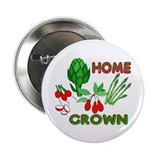 """Home Grown 2.25"""" Button (10 pack)"""