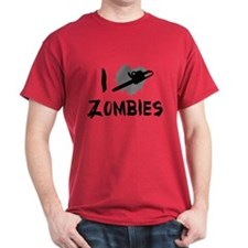 I Love Killing Zombies T-Shirt