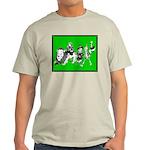 Character Illustrations Ash Grey T-Shirt