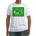 Character Illustrations Fitted T-Shirt