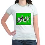 Character Illustrations Jr. Ringer T-Shirt