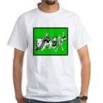 Character Illustrations White T-Shirt