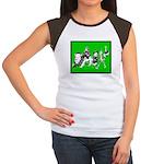 Character Illustrations Women's Cap Sleeve T-Shirt
