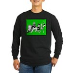 Character Illustrations Long Sleeve Dark T-Shirt