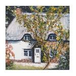 New Forest Cottage Tile Coaster