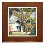 New Forest Cottage Framed Tile