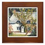 New Forest Cottage Framed Tile