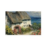 Mariner's Cottage Rectangle Magnet