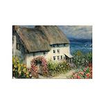 Mariner's Cottage Rectangle Magnet