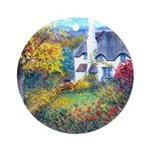 Doone Valley Cottage Ornament (Round)