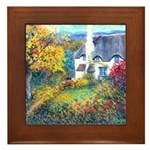 Doone Valley Cottage Framed Tile