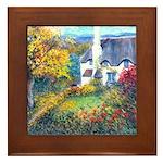 Doone Valley Cottage Framed Tile