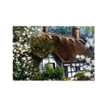 Anne Hathaway's Cottage Rectangle Magnet