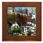 Anne Hathaway's Cottage Framed Tile