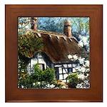 Anne Hathaway's Cottage Framed Tile