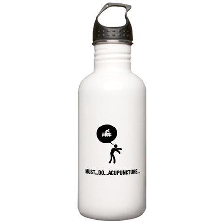 Acupuncture Stainless Water Bottle 1.0L
