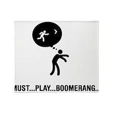 Boomerang Throw Blanket