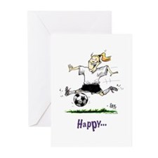 Soccer #1120 Greeting Cards (Pk of 10)