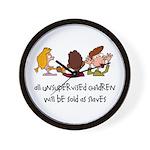 Unsupervised Children Wall Clock