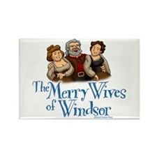 The Merry Wives of Windsor Rectangle Magnet
