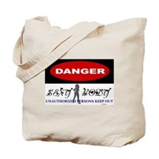 Unique Dangerous Tote Bag