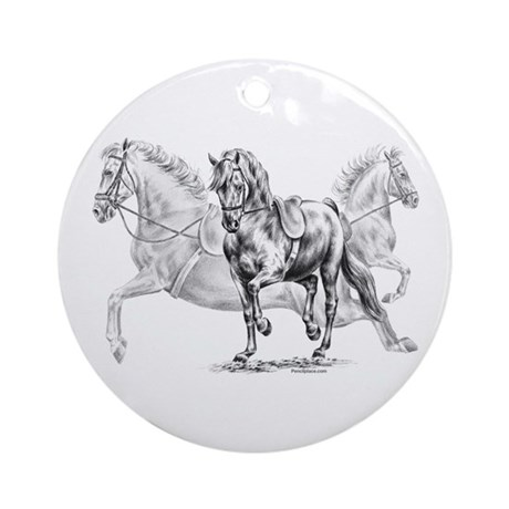 High School Dance Ornament (Round)