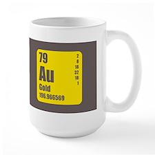 Periodic Table Of Element's Au GOLD Mug