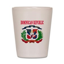 Dominican Republic Coat Of Arms Designs Shot Glass